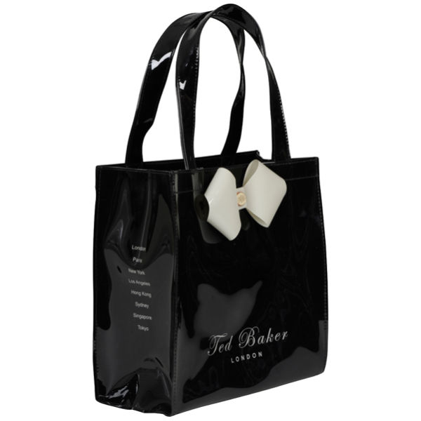 Ted Baker Tinycon Small Bow Icon Bag Black