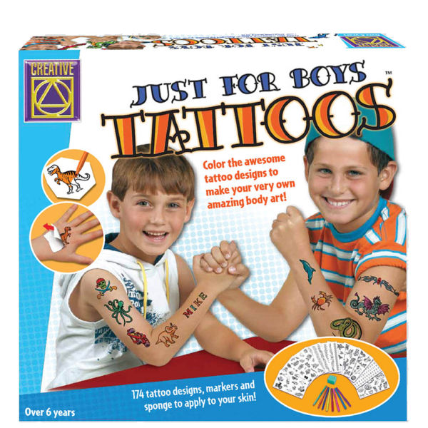 Creativity Toys For Boys : Creative toys just for boys tattoos thehut