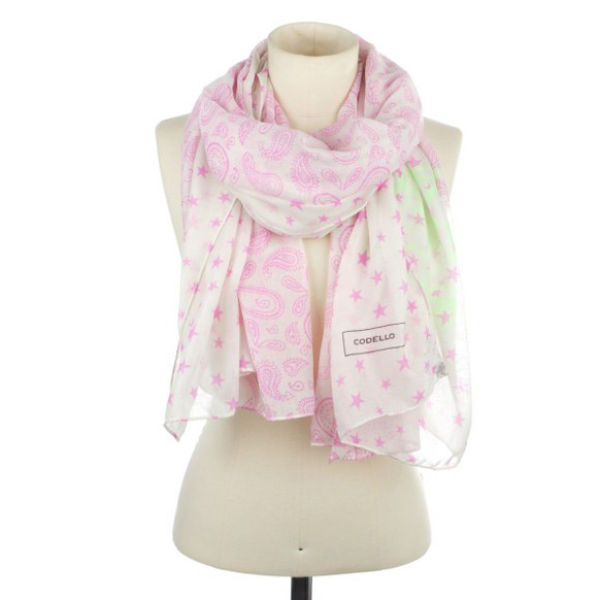 Codello Live for Today Scarf  - Dark Pink