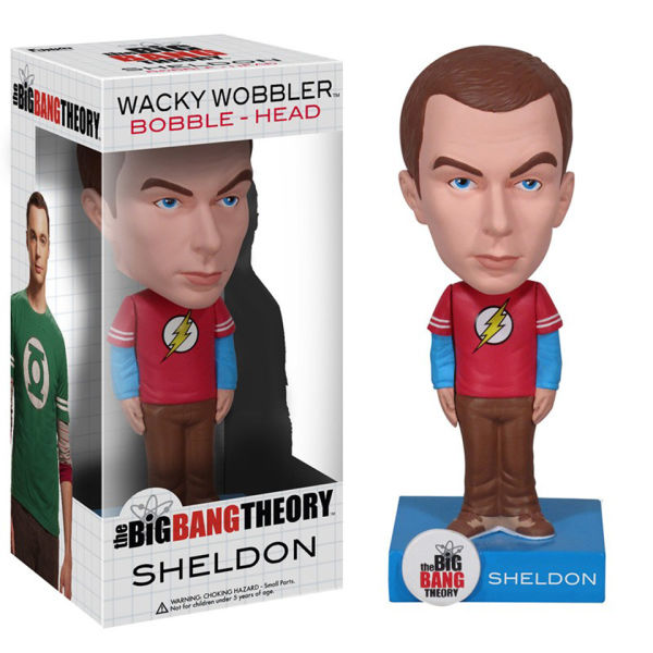 The Big Bang Theory Sheldon Wacky Wobbler