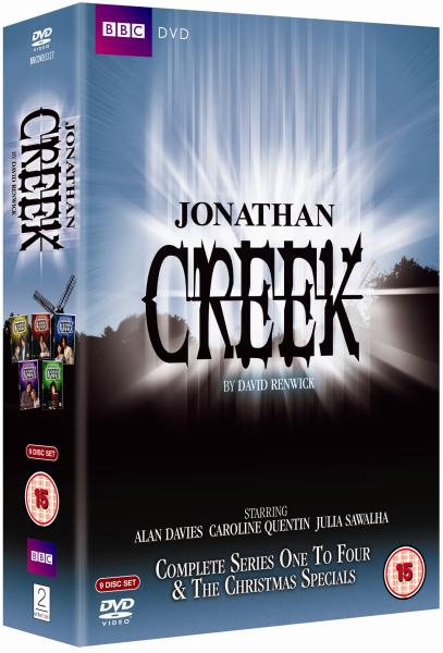Jonathan Creek: Series 1-4