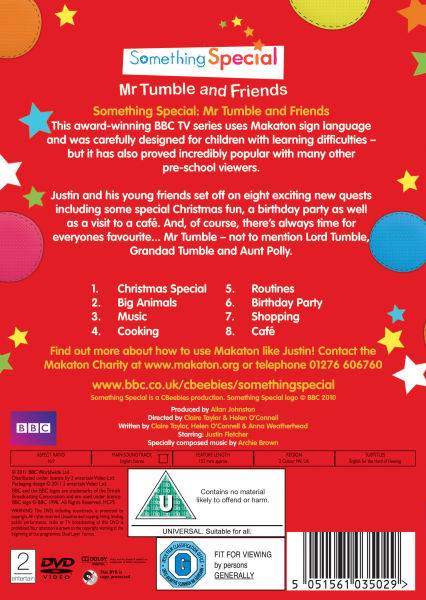 Something special mr tumble and friends dvd - Something special ...