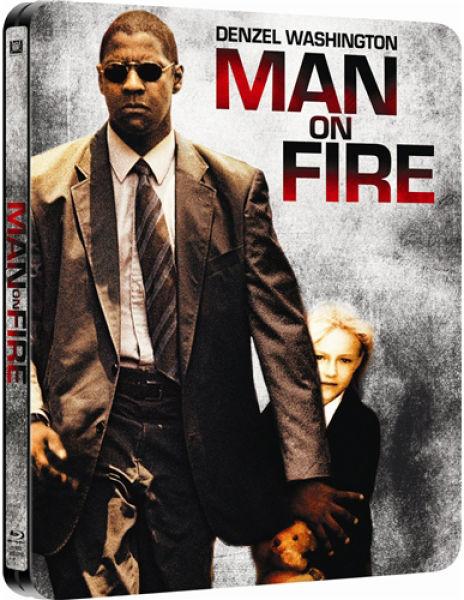 man on fire steelbook edition bluray zavvicom