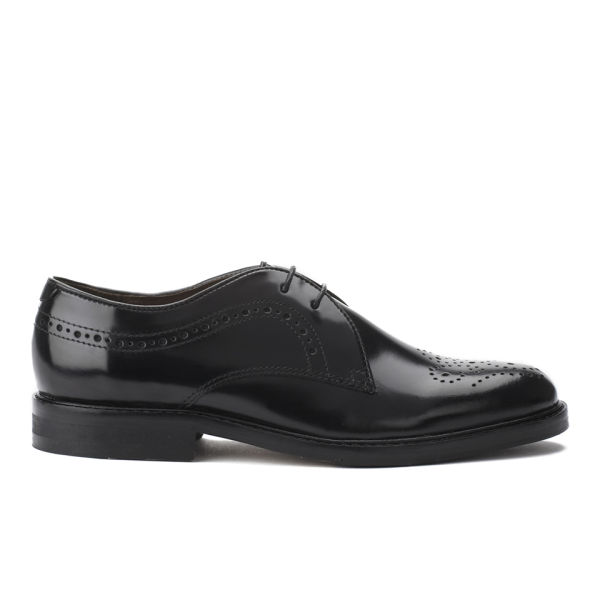 Hudson London Women's Magee Hi Shine Brogues - Black