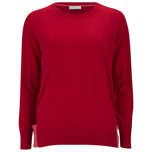 Paul by Paul Smith Women's Red Spot Jumper - Red/Pink