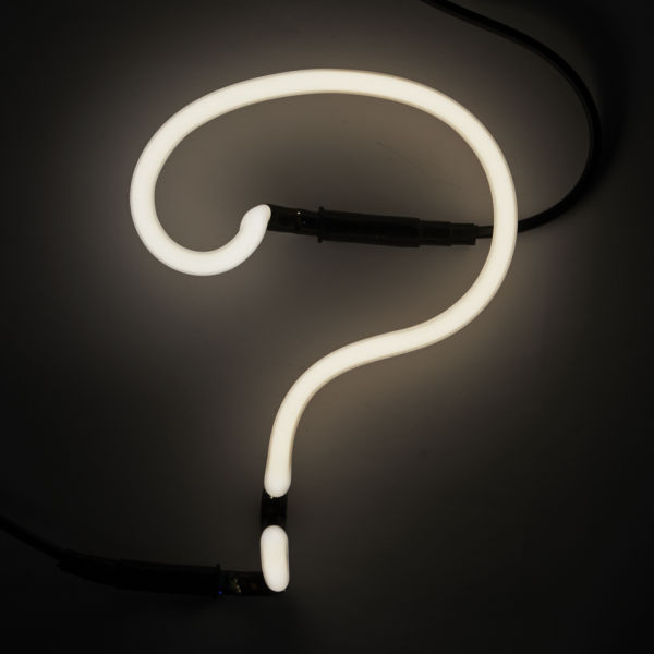 Seletti Neon Font Shaped Wall Light - ?
