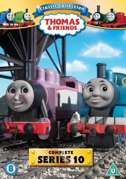 Thomas The Tank Engine Classic Collection Series 10 Dvd