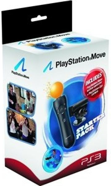 Playstation Move Starter Pack Includes Move Controller