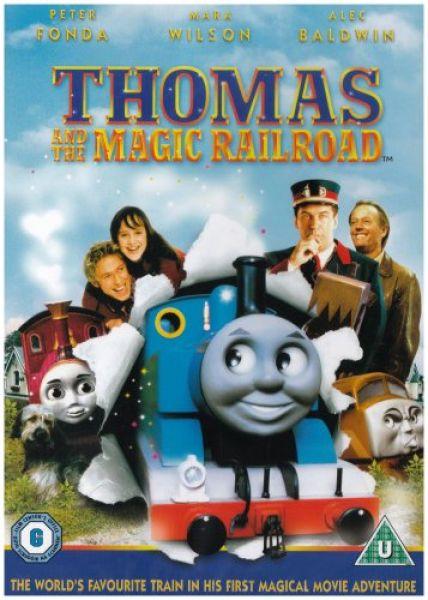 Thomas The Tank Engine Magic Railroad Dvd Zavvi