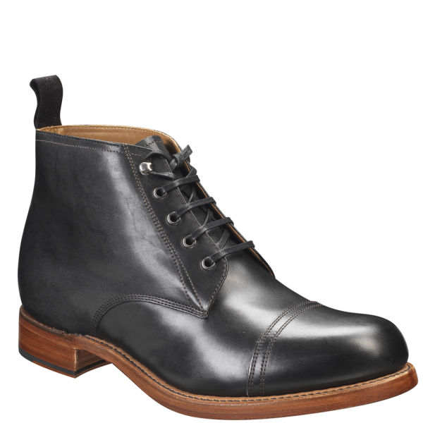 Grenson Men S Ryan Lace Up Boots Black Free Uk