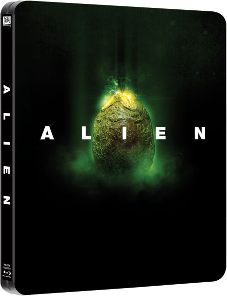 Alien Limited Edition Steelbook Blu Ray Zavvi