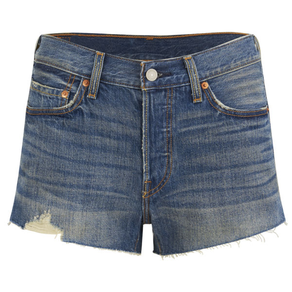 Levi's Women's Mid Rise 501 Shorts - Boom Town