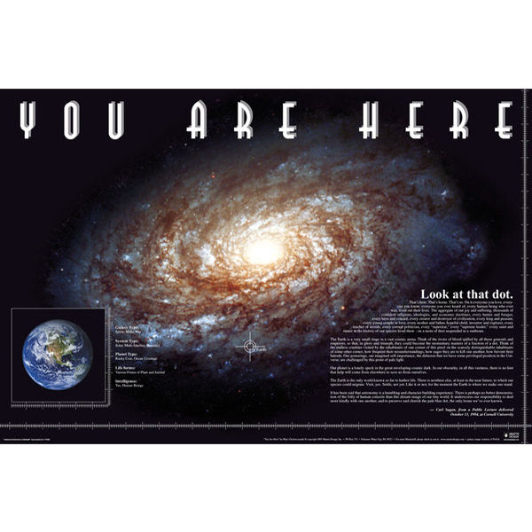 You Are Here Space - Maxi Poster - 61 x 91.5cm