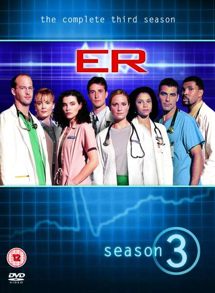 E R Season 3 Dvd Zavvi