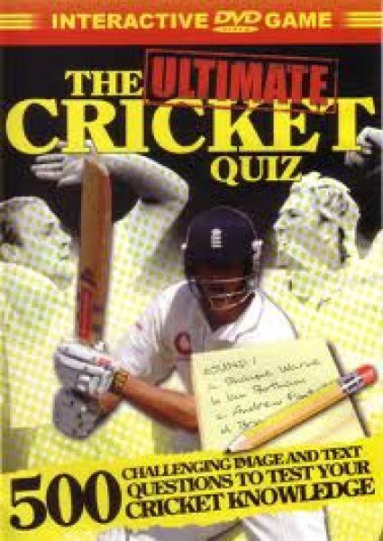 The Ultimate Cricket Quiz