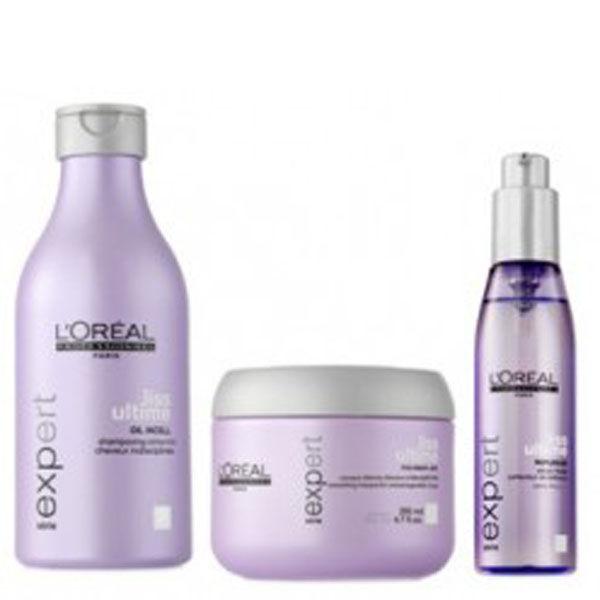 L'Oréal Professionnel Série Expert Liss Ultime Pack (3 Products)
