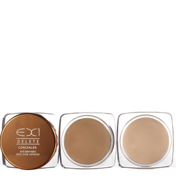 EX1 Cosmetics Delete Anti-Blemish/Dark Circle Concealer 6.5g (Various Shades)