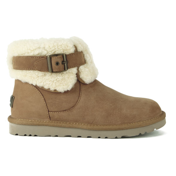 UGG Women's Jocelin Ankle Sheepskin Boots - Chestnut