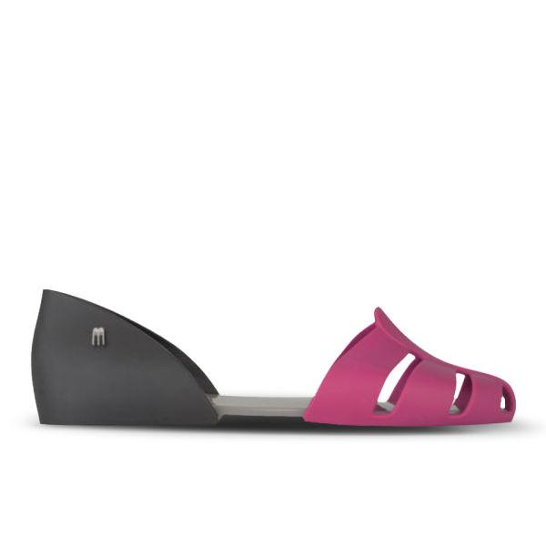Melissa Women's Planet Hits Flat Shoes - Pink/Black