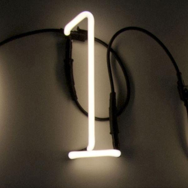 Seletti Neon Font Shaped Wall Light - 1