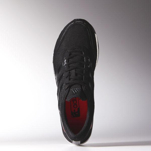 reputable site 42d07 02f98 adidas Mens Adizero Takumi Sen Boost 3 Running Shoes - BlackWhite Image 4