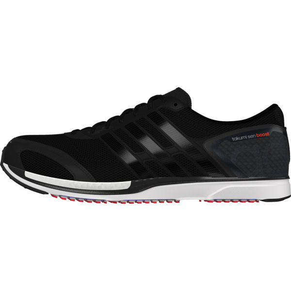 8db4ae0f3bc adidas Men s Adizero Takumi Sen Boost 3 Running Shoes - Black White  Image 1