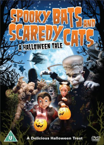 Spooky Bats And Scaredy Cats Dvd Zavvi
