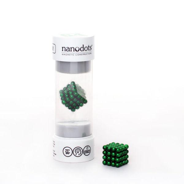 Nanodots Magnetic Constructers Green - 64 Dots