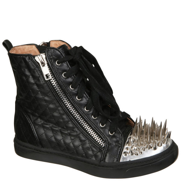 Jeffrey Campbell Women's Adams Crown Trainers - Black