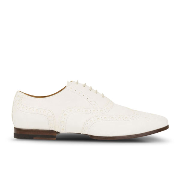 Paul Smith Shoes Women's Darcy Leather Brogues - White Buffalino