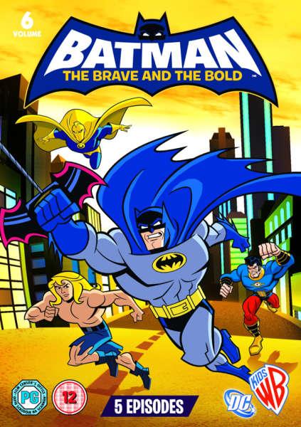 Batman Brave And The Bold Volume 6 Dvd Zavvi