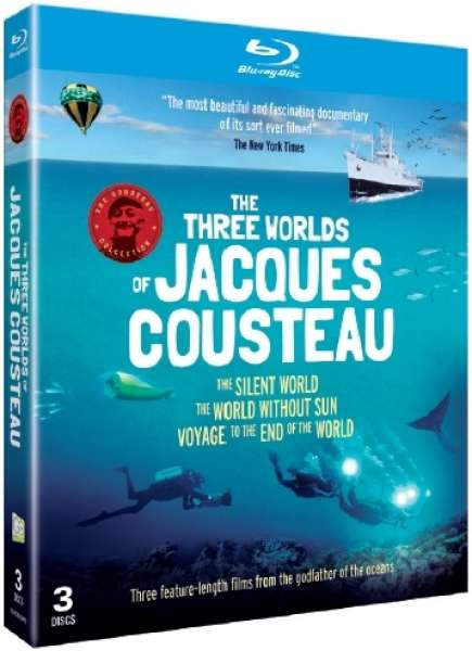 the jacques cousteau movie collection bluray zavvi