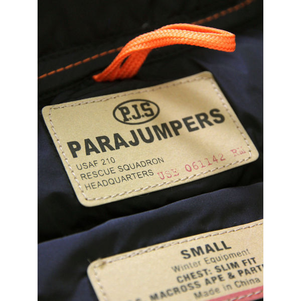 Parajumpers Women's Light Long Bear Coat - Navy: Image 4