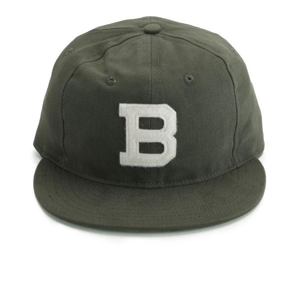 Ebbets Field Flannels Brooklyn Bushwicks Cap - Olive Drab