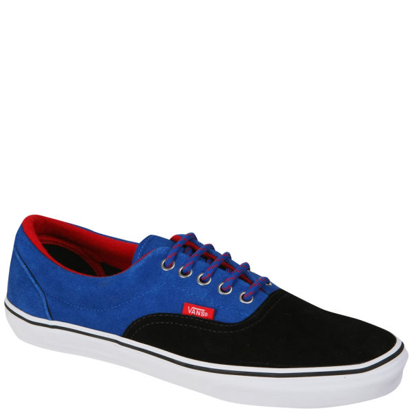 Vans 106 Vulcanized Canvas Trainers - Nautical Blue Black - Free UK ... 1b903b80a