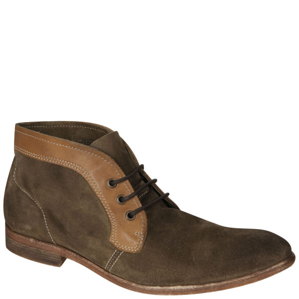 H Shoes by Hudson Men's Merfield Chukka Boots - Stone