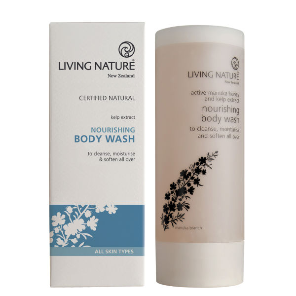 Gel de Ducha Nutritivo de Living Nature 200 ml