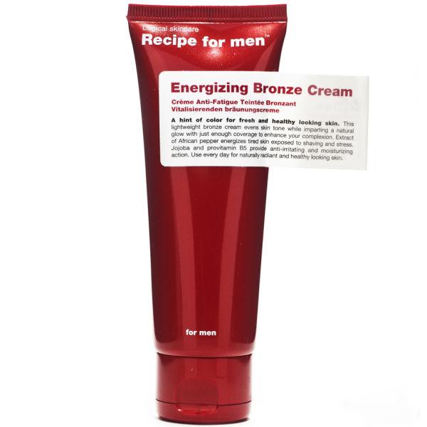 Recipe for Men - Energizing Bronze Cream 75ml