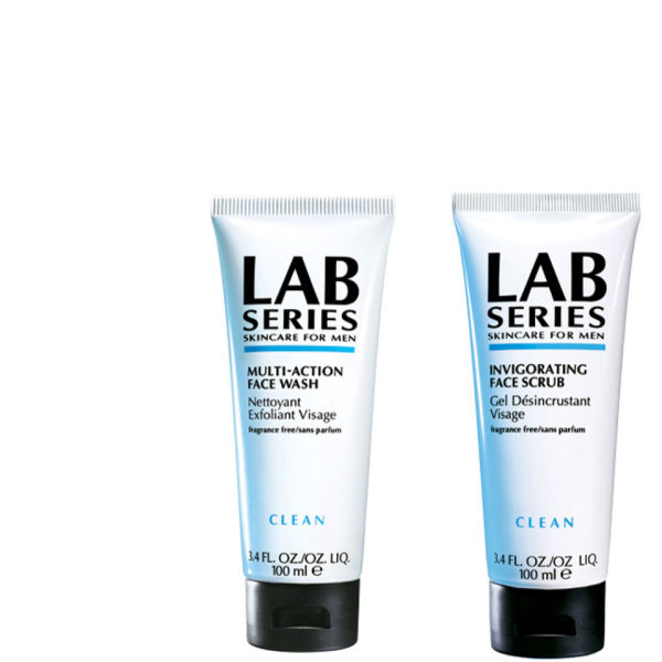 Lab Series Face Wash & Scrub 100ml (Bundle)