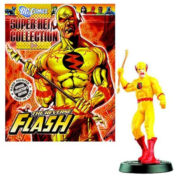 Free Comic Book Day Uk Store Locator: DC Comics Superhero Reverse Flash Collector Magazine With