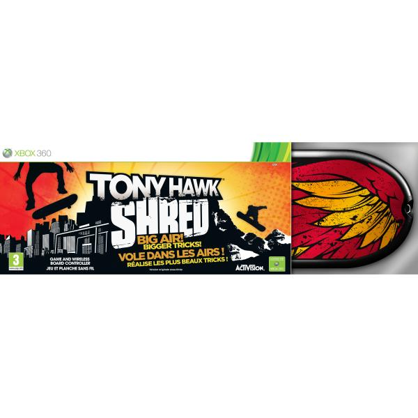 Tony Hawk: Shred + Board