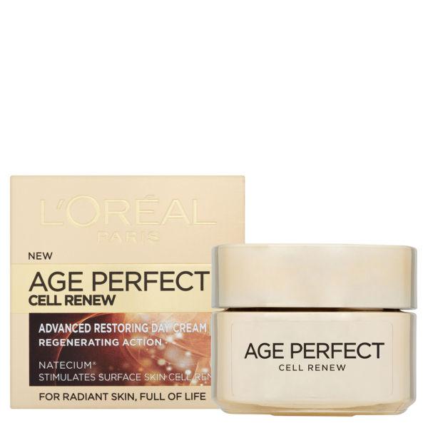 L'Oreal Paris Dermo Expertise Age Perfect Cell Renew Advanced Restoring Day Cream - SPF15 (50ml)