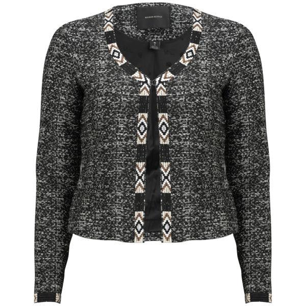Maison Scotch Women's Stitched Blazer - Grey