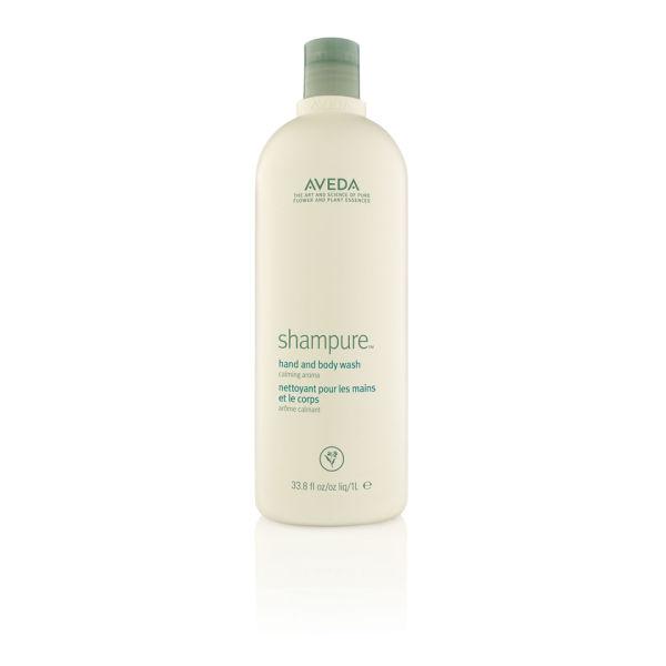 Aveda Shampure Hand och Body Wash (1000 ml) - (värde £ 70,00)
