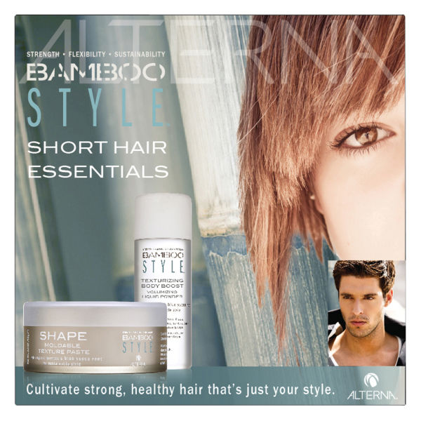 Hair Style Essentials : ALTERNA BAMBOO STYLE SHORT HAIR ESSENTIALS COLLECTION (2 PRODUCTS ...