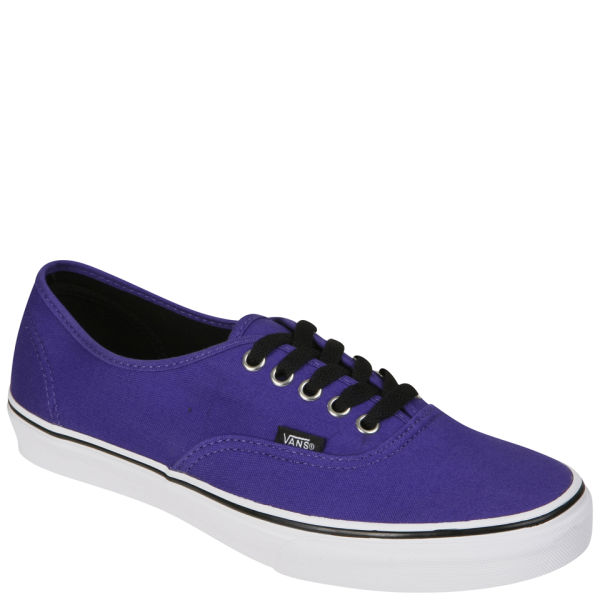Vans Authentic Canvas Trainer - Dark Purple/True White