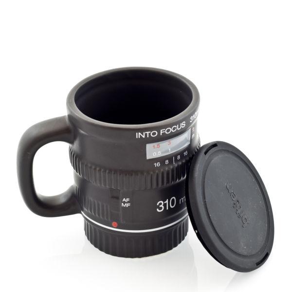 Ceramic Camera Lens Mug Traditional Gifts