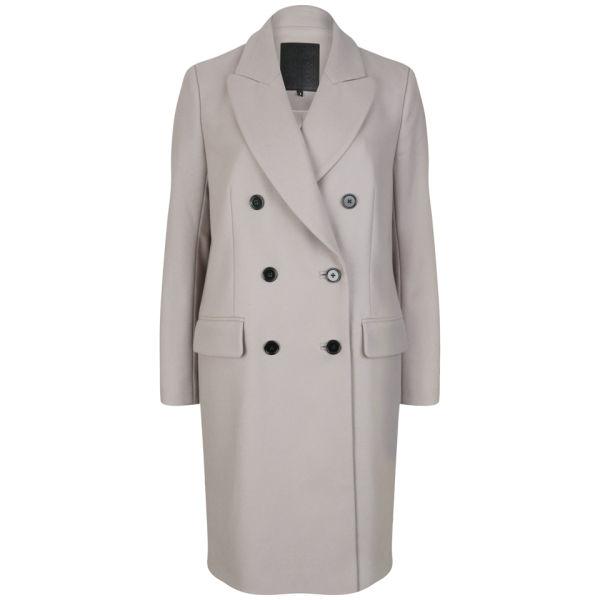 D.EFECT Women's Tallulah Coat - Grey Beige