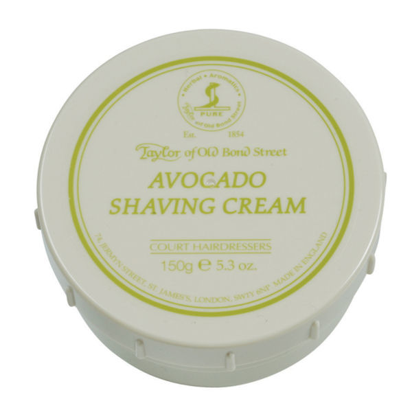 Taylor of Old Bond Street Shaving Cream Bowl (5oz) - Avocado