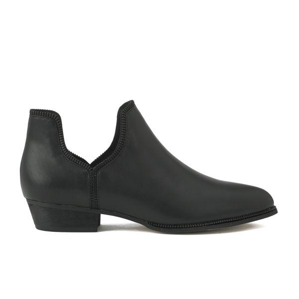 Senso Women's Blake VII Zip Around Leather Ankle Boots - Black